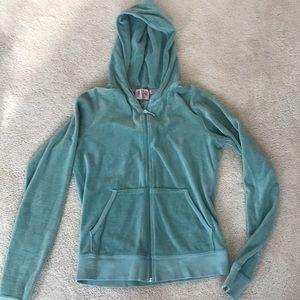 Juicy velour hoodie